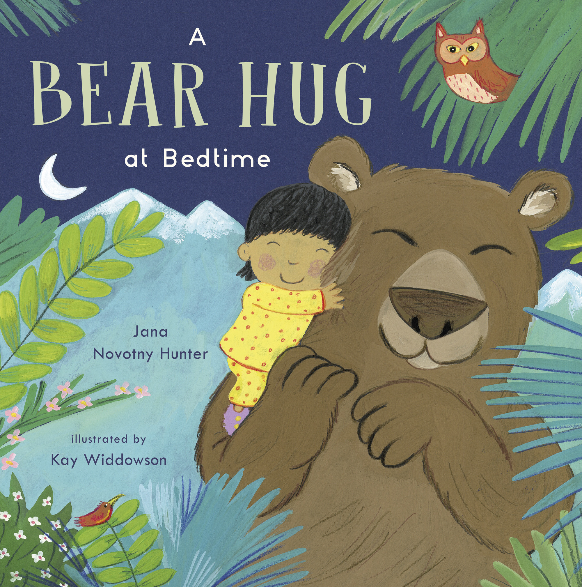 A BEAR HUG AT BEDTIME by Jana Novotny Hunter and Kay Widdowson