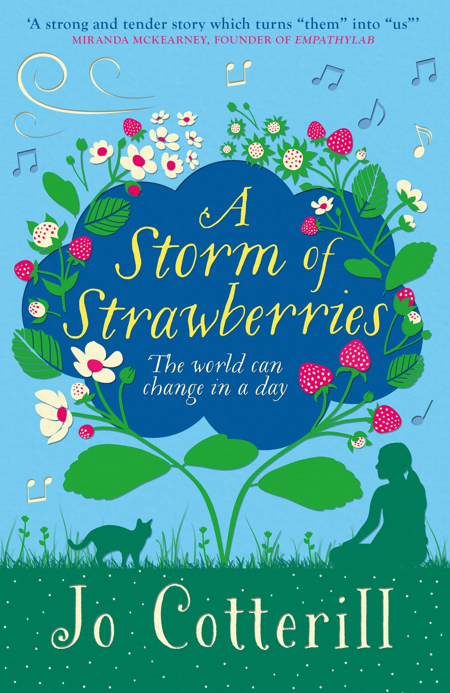 A STORM OF STRAWBERRIES by Jo Cotterill