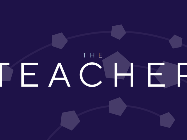 The Teacher banner