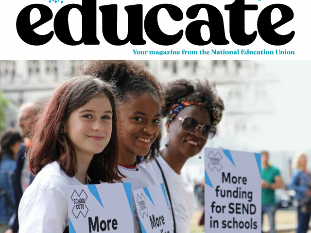 Front cover Educate070819