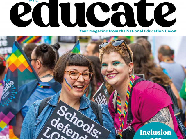 Educate September October 2019 cover