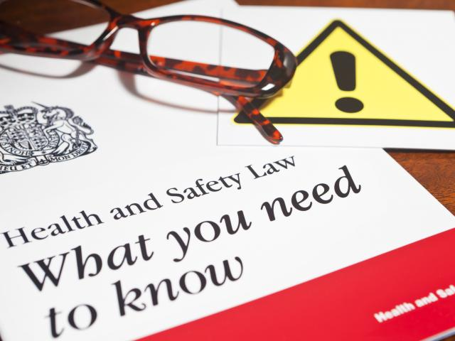 Health and safety law booklet