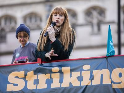 Sixth form rally Angela Rayner speaking